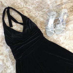 Black Cocktail Party Dress Size Medium